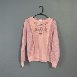 Small Knox Rose Sweater